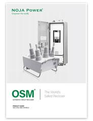 Вакуумный реклоузер OSM. Посібник по продукту.