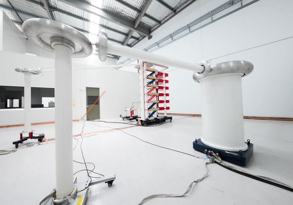 NOJA Power testing lab